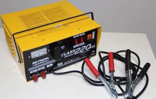 Особенности пуско-зарядного устройства Deca SC 80/900