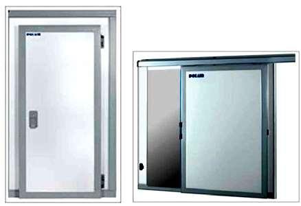 Каталог сервисных и изотермических дверей для холодильных камер
