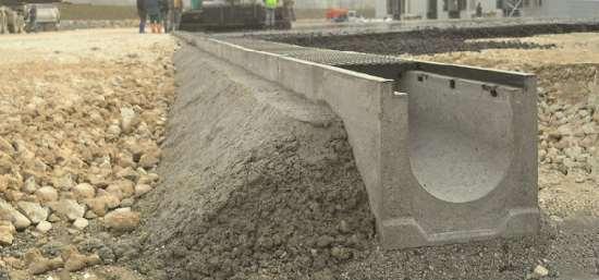 Характеристики и преимущества бетонных водоотводных лотков