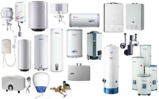 Виды и преимущества водонагревателей