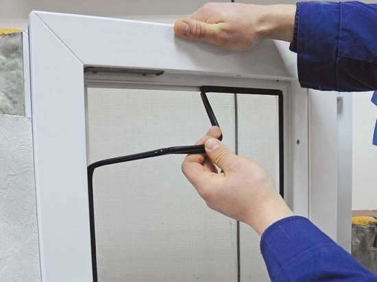Профессиональная замена уплотнителя в окнах ПВХ