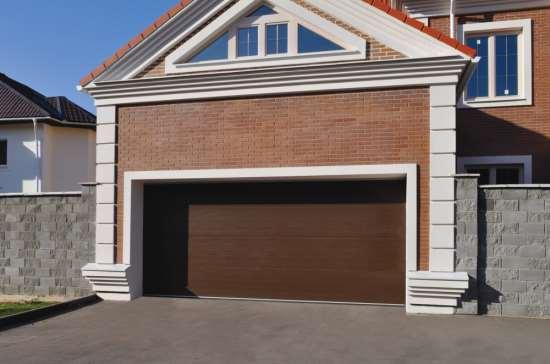 Надежность и комфорт - гаражные секционные ворота