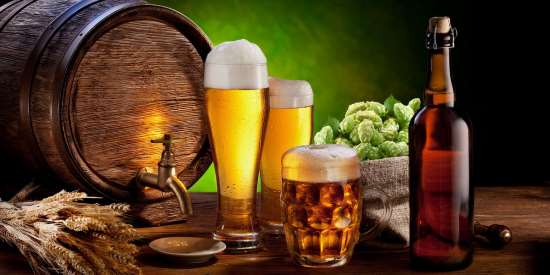 Высококачественное живое пиво в кегах