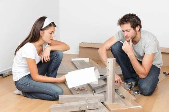 Сборка мебели или конструктор для взрослых