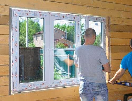 Секреты успешного монтажа окон в каркасном доме