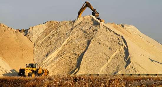 Востребованные виды строительного песка