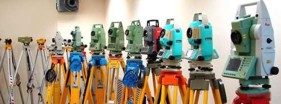 Востребованные виды геодезического оборудования