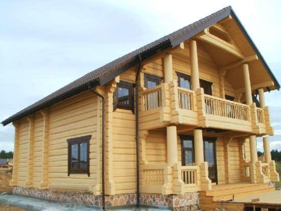 Строительство домов из лафета – выбор подходящего материала