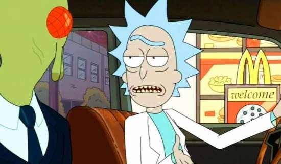 Любимый мультсериал «Рик и Морти»
