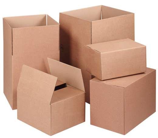 Распространенные разновидности картона для коробок