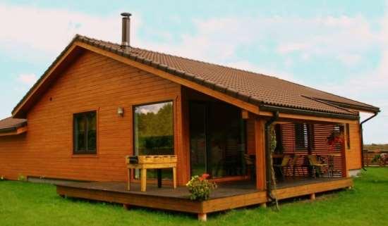Важные достоинства строительства одноэтажных каркасных домов