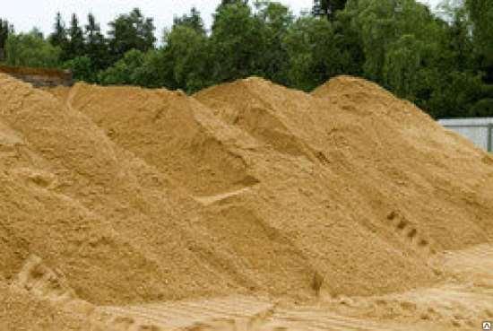 Строительный песок в Калининграде для любого типа работ