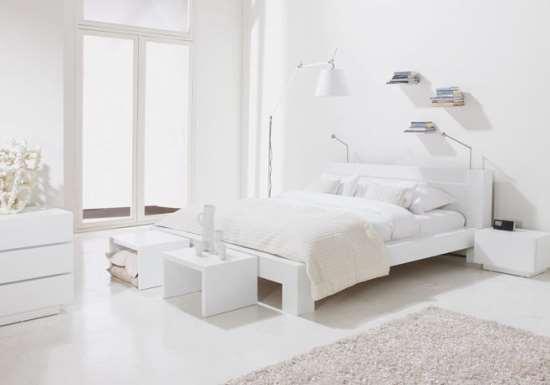 Спальня в белом стиле