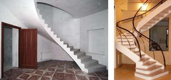 Монолитные лестницы для помещений – самые долговечные