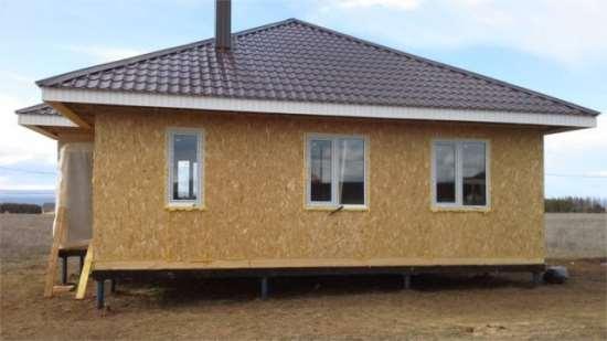 Этапы строительства одноэтажных домов из СИП-панелей