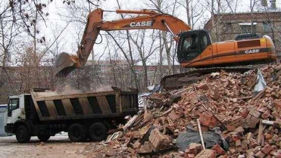 Компания Ecodrive быстро справится со строительным мусором