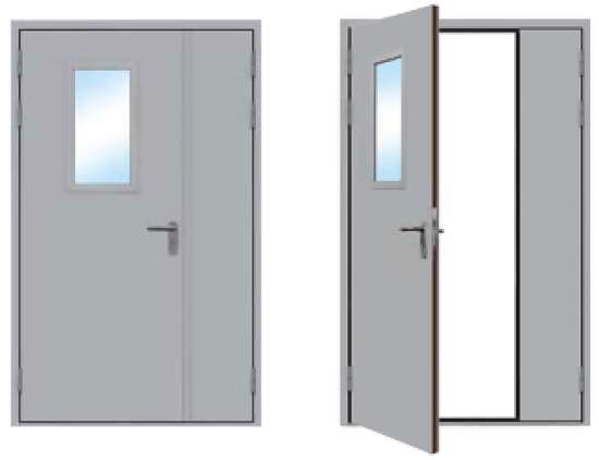 """Заказывайте противопожарные двупольные двери в """"ПротДвери"""""""