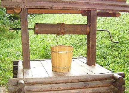 Вкусная вода только в правильно построенном колодце