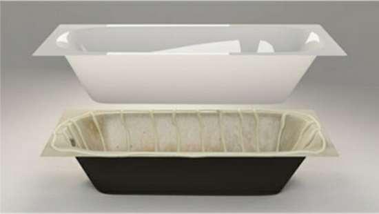 Акриловый вкладыш: как отреставрировать ванну за два часа