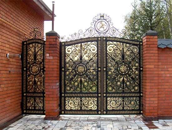 Классификация и особенности кованых ворот