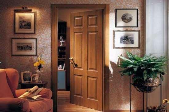 Выбор межкомнатных дверей в зависимости от материала изготовления