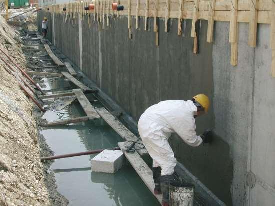 Тонкости применения гидроизоляции бетона и фундаментов