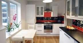 Этапы проведения ремонта в кухне