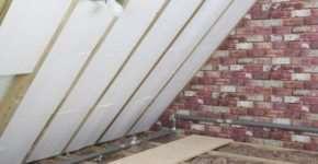 С помощью каких материалов можно утеплить крышу?
