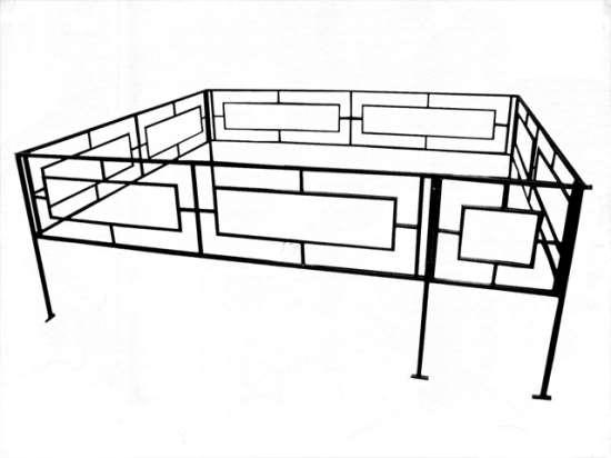Покупка ритуальной оградки для украшения могилы