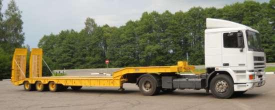 Преимущества перевозки грузов с помощью тралов-низкорамников