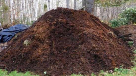 Навоз перегной для удобрения почвы