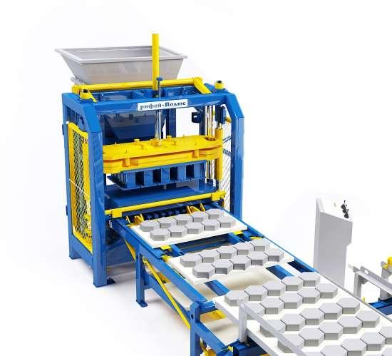 Основные достоинства применения вибропресса для стройматериалов