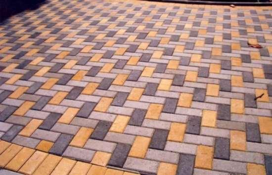 Виды и характеристики тротуарной плитки