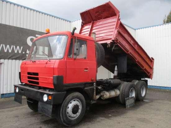 Аренда надежных грузовиков «Татра 815»