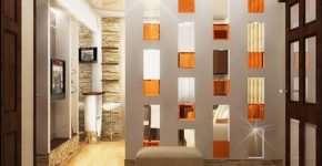 Стеклоблоки в интерьере жилья