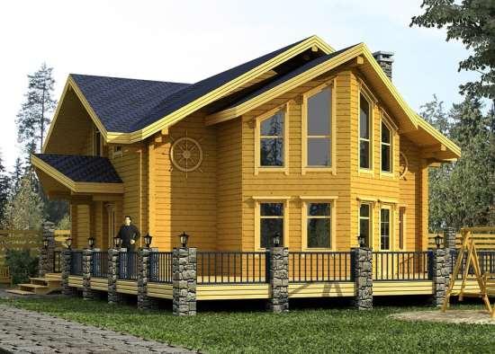 Почему дома из клееного бруса стали такими востребованными и популярными?