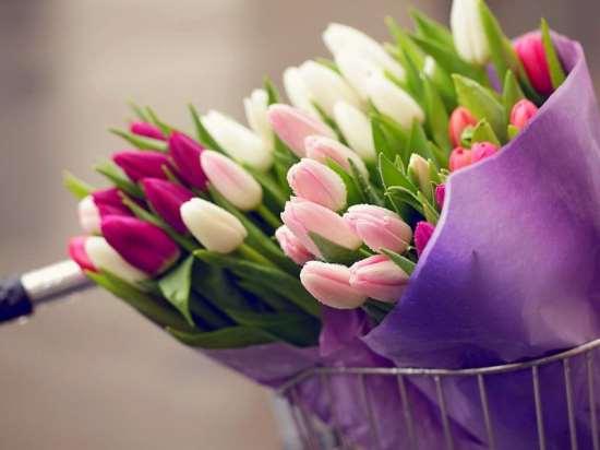Какие букеты цветов дарить на 8 марта?