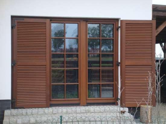 Шпросы на деревянных окнах