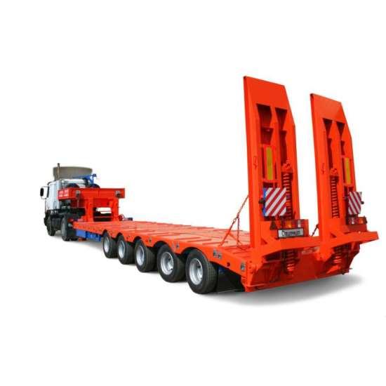 Возможности транспортировки нестандартных грузов с помощью тралов-низкорамников