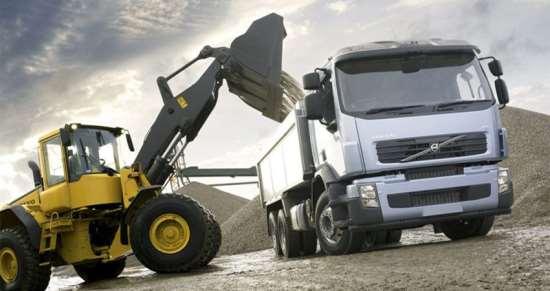 Строительные материалы и транспортные средства