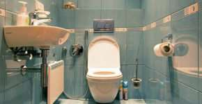 Ремонт в туалете: замена водопровода