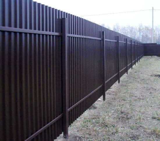 Забор из профнастила, как самый востребованный