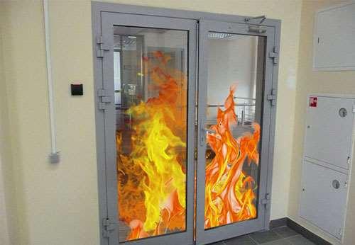 Противопожарные двери: типы, виды, особенности