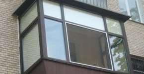 Виды и характеристики балконных рам