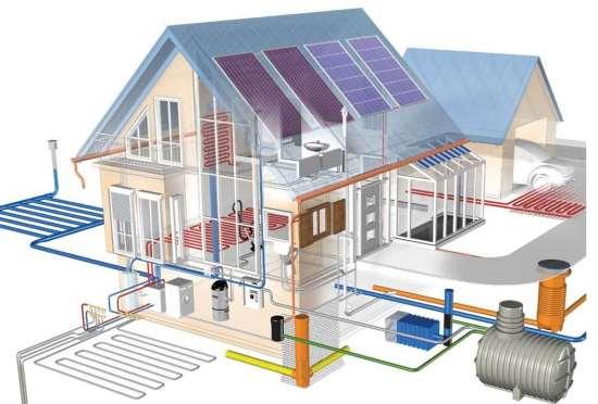 Тонкости монтажа инженерных систем в частном доме