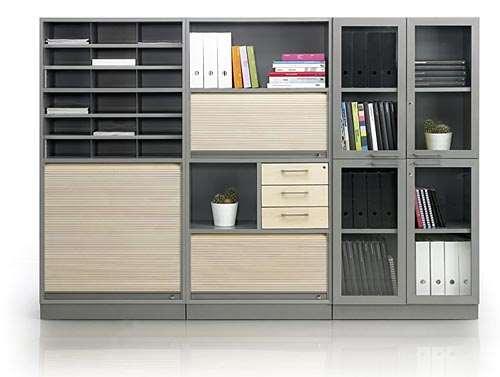 Виды и конструкционные особенности офисных шкафов