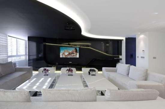 Как сделать дизайн интерьера в стиле хай-тек?