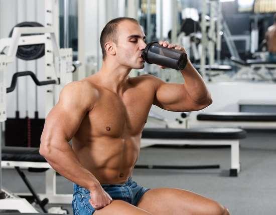 Какое спортивное питание используется для набора мышц?