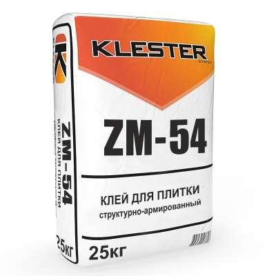 Клей для плитки ZM-54 – высокое качество по разумной цене