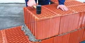 Керамические блоки для современного строительства